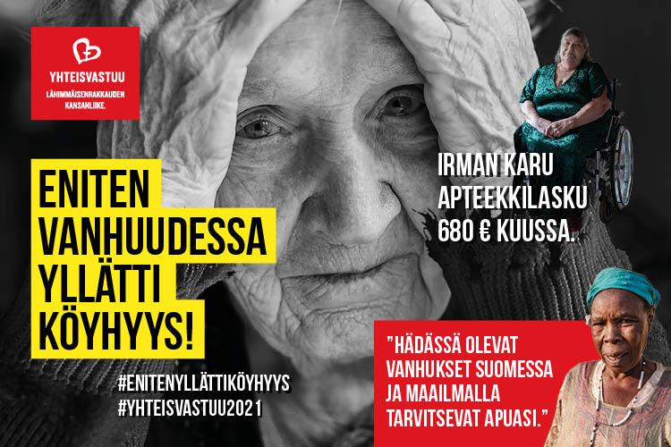 Köyhyys Suomessa 2021